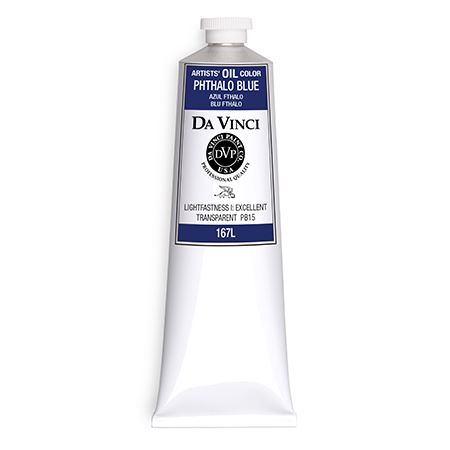 (27) Phthalo Blue (150mL Oil Paint)