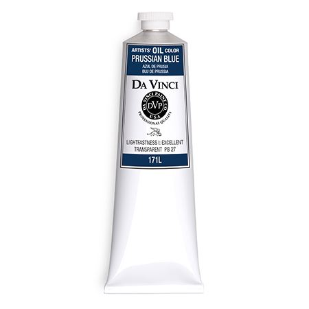 (25) Prussian Blue (150mL Oil Paint)