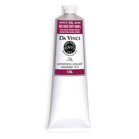 (19) Red Rose Deep (Quinacridone) (150mL Oil Paint)