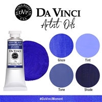 (24) Ultramarine Blue (150mL Oil Paint)