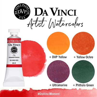 <!--(26)--> Da Vinci Red (8mL Watercolor)