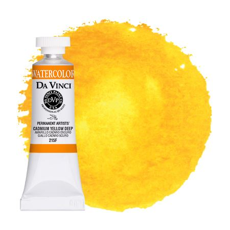 <!--(12)--> Cadmium Yellow Deep (15mL Watercolor)