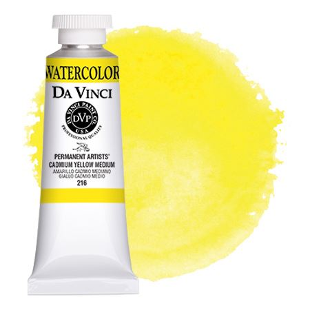 <!--(09)--> Cadmium Yellow Medium (37mL Watercolor)