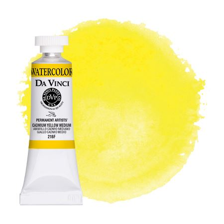 <!--(09)--> Cadmium Yellow Medium (15mL Watercolor)
