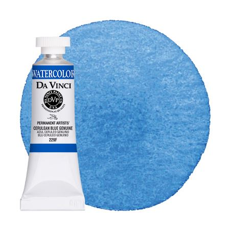 <!--(59)--> Cerulean Blue Genuine (15mL Watercolor)