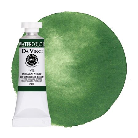 <!--(72)--> Chromium Oxide Green (15mL Watercolor)