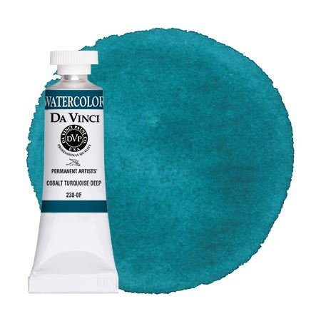 <!--(65)--> Cobalt Turquoise Deep (15mL Watercolor)