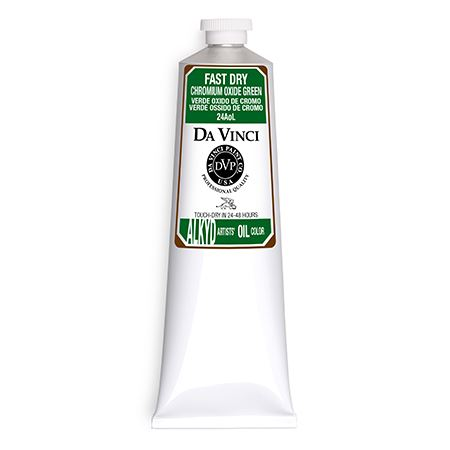 (40) Chromium Oxide Green (150mL Fast Dry Oil Paint)