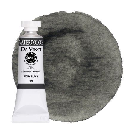 <!--(A100)--> Ivory Black (15mL Watercolor)