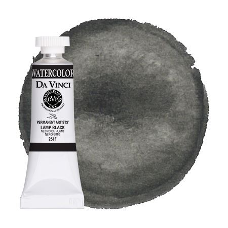<!--(A101)--> Lamp Black (15mL Watercolor)