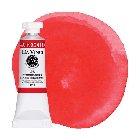 <!--(28)--> Naphthol Red (Mid-Tone) (15mL Watercolor)