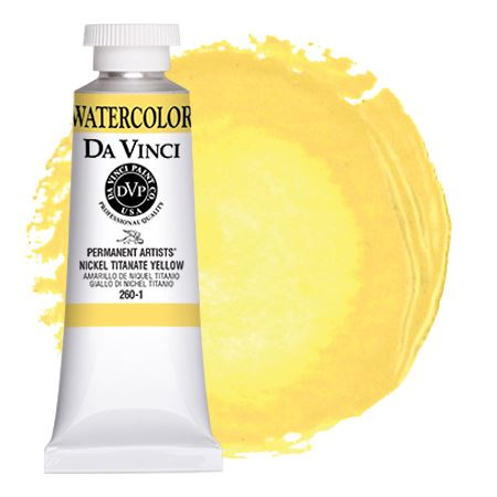 <!--(01)--> Nickel Titanate Yellow (37mL Watercolor)