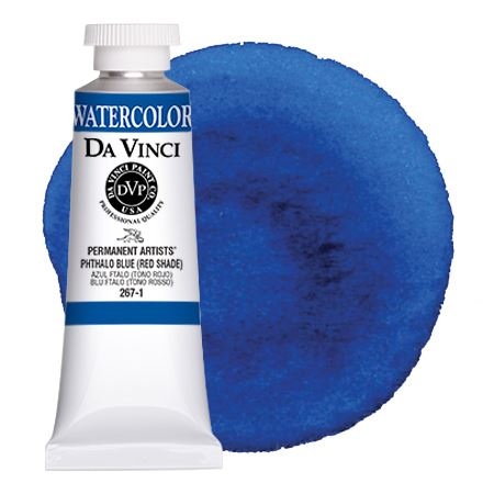 <!--(53)--> Phthalo Blue (Red Shade) (37mL Watercolor)