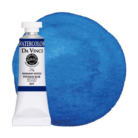 <!--(55)--> Phthalo Blue (15mL Watercolor)