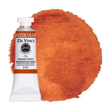 <!--(87)--> Quinacridone Burnt Orange (15mL Watercolor)