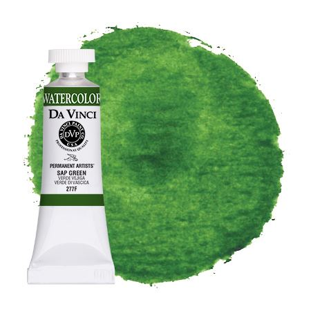 <!--(74)--> Sap Green (15mL Watercolor)