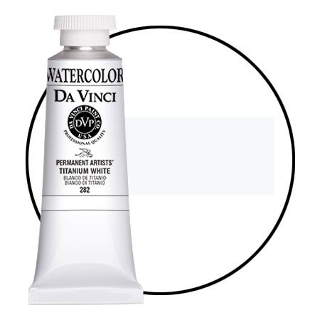 <!--(A104)--> Titanium White (37mL Watercolor)