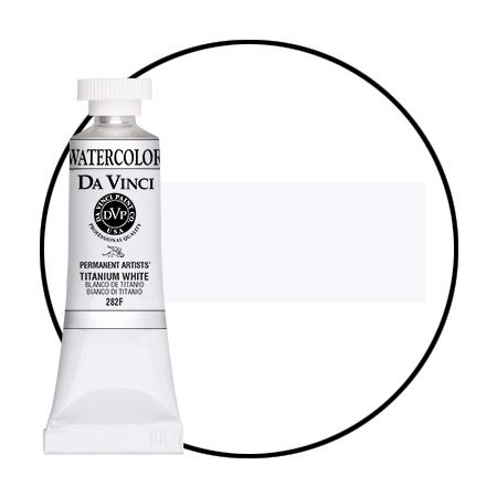 <!--(A104)--> Titanium White (15mL Watercolor)
