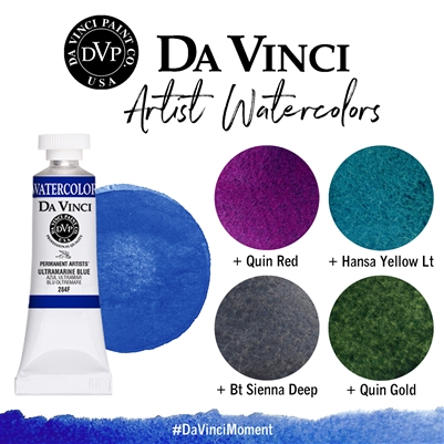 <!--(57)--> Ultramarine Blue (15mL Watercolor)