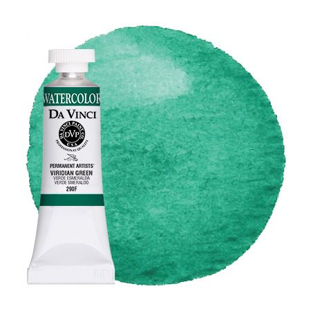 <!--(68)--> Viridian Green (15mL Watercolor)