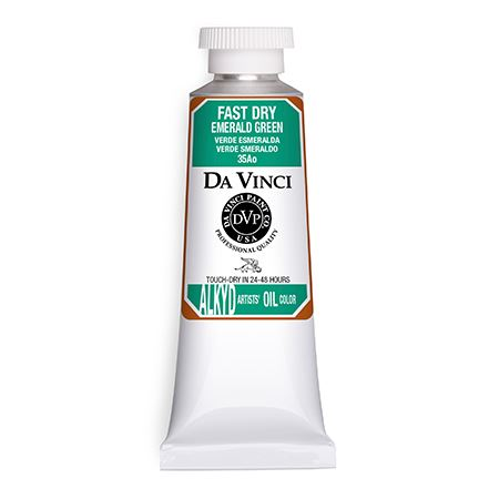 (38) Emerald Green (37mL Fast Dry Oil Paint)