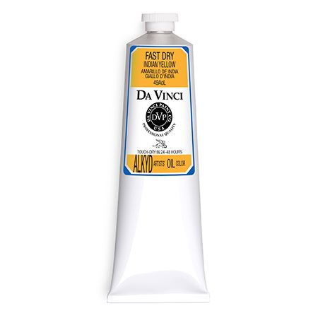 (07) Indian Yellow (150mL Fast Dry Oil Paint)