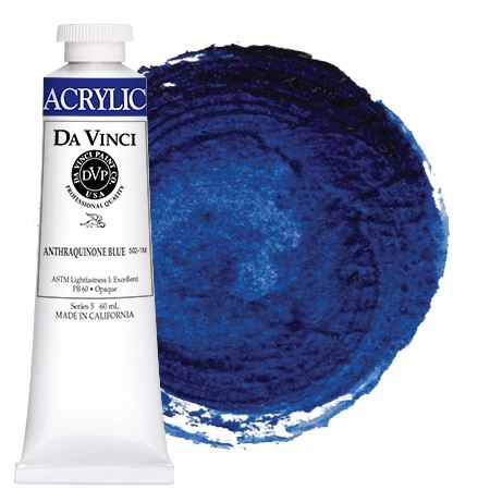 <!--(29)--> Anthraquinone Blue (60mL HB Acrylic)