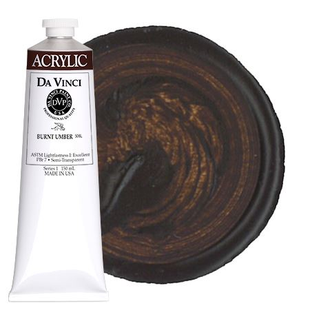 <!--(58)--> Burnt Umber (150mL HB Acrylic)
