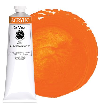 <!--(11)--> Cadmium Orange (150mL HB Acrylic)