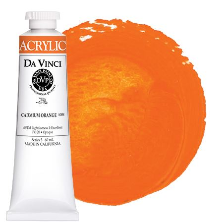 <!--(11)--> Cadmium Orange (60mL HB Acrylic)