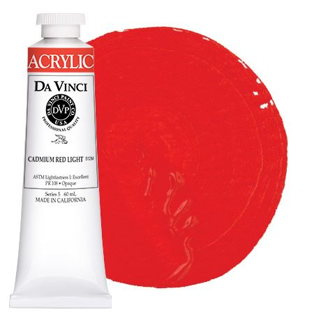 <!--(12)--> Cadmium Red Light (60mL HB Acrylic)