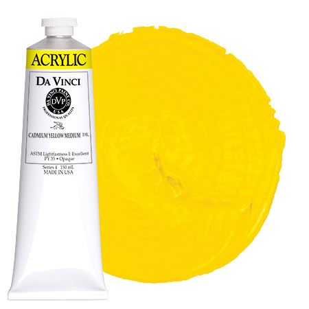 <!--(05)--> Cadmium Yellow Medium (150mL HB Acrylic)