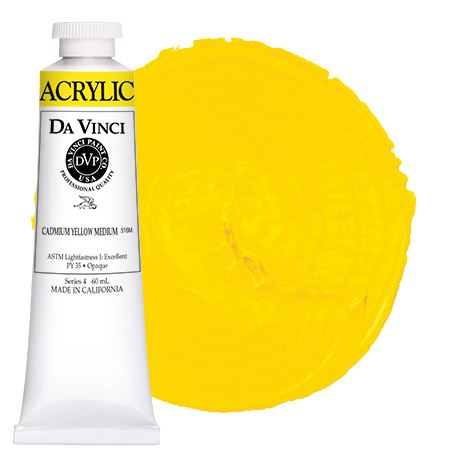<!--(05)--> Cadmium Yellow Medium (60mL HB Acrylic)