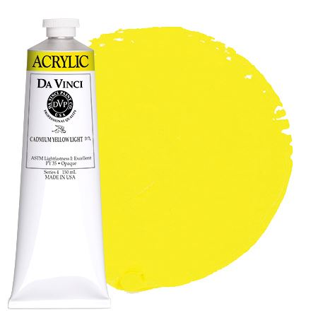<!--(04)--> Cadmium Yellow Light (150mL HB Acrylic)