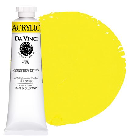 <!--(04)--> Cadmium Yellow Light (60mL HB Acrylic)