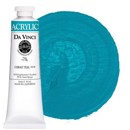 <!--(39)--> Cobalt Teal (60mL HB Acrylic)