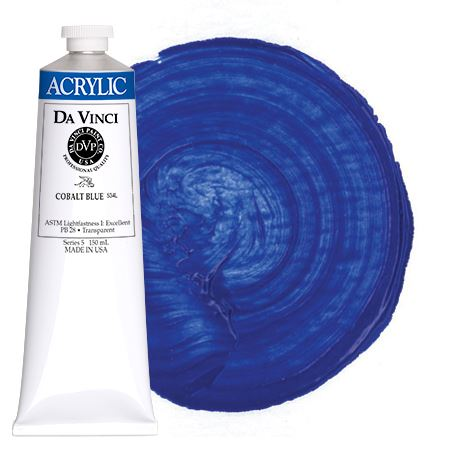 <!--(30)--> Cobalt Blue (150mL HB Acrylic)