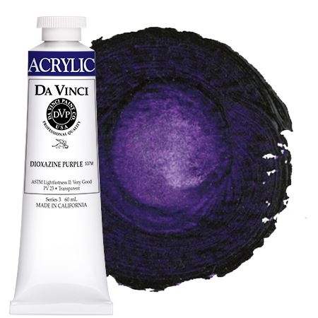 <!--(28)--> Dioxazine Purple (60mL HB Acrylic)