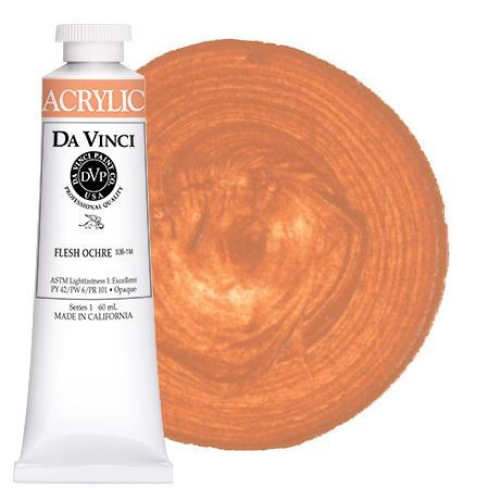 <!--(54)--> Flesh Ochre (60mL HB Acrylic)