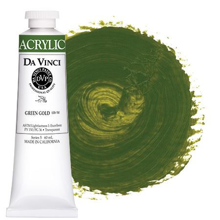 <!--(49)--> Green Gold (60mL HB Acrylic)
