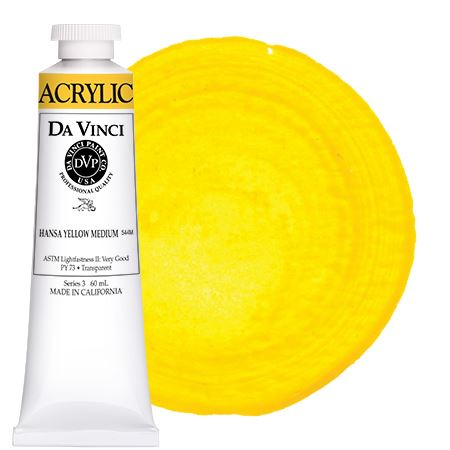 <!--(02)--> Hansa Yellow Medium (60mL HB Acrylic)