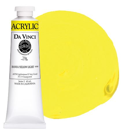 <!--01--> Hansa Yellow Light (60mL HB Acrylic)