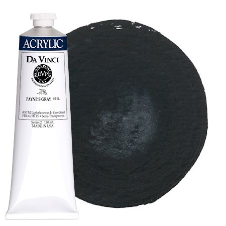 <!--(62)--> Payne's Gray (150mL HB Acrylic)