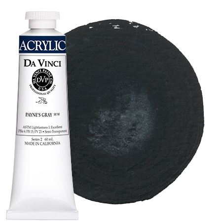 <!--(62)--> Payne's Gray (60mL HB Acrylic)