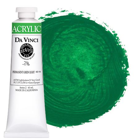 <!--(45)--> Permanent Green Light (60mL HB Acrylic)