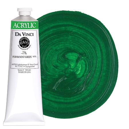 <!--(44)--> Permanent Green (150mL HB Acrylic)
