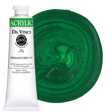 <!--(44)--> Permanent Green (60mL HB Acrylic)