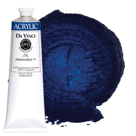 <!--(33)--> Phthalo Blue (150mL HB Acrylic)