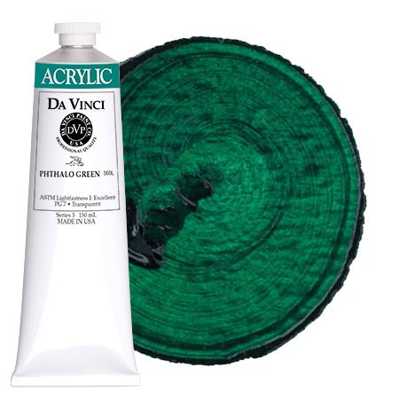 <!--(42)--> Phthalo Green (150mL HB Acrylic)