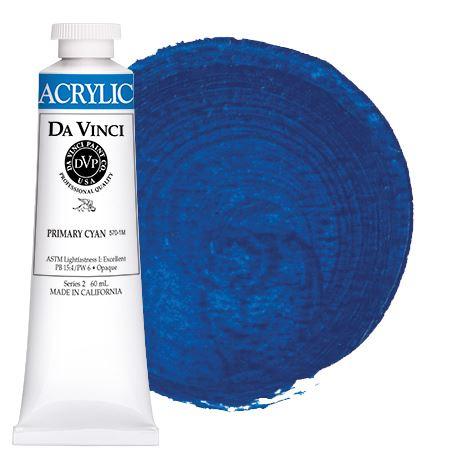 Primary Cyan 60ml Hb Acrylic